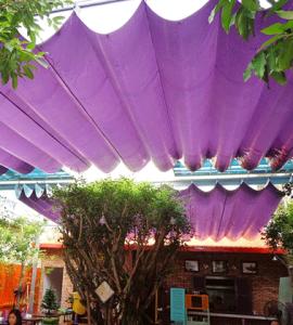 Bạt che nắng mưa quán cafe