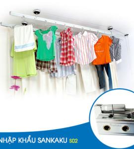 Giàn phơi quần áo nhập khẩu Sankaku S2
