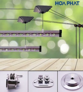 Giàn phơi thông minh Inox 304 HP-980