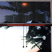 Cửa Lưới Chống Muỗi Tự Cuốn cửa sổ màu vân gỗ
