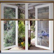 Cửa Lưới Chống Muỗi Tự Cuốn cửa sổ