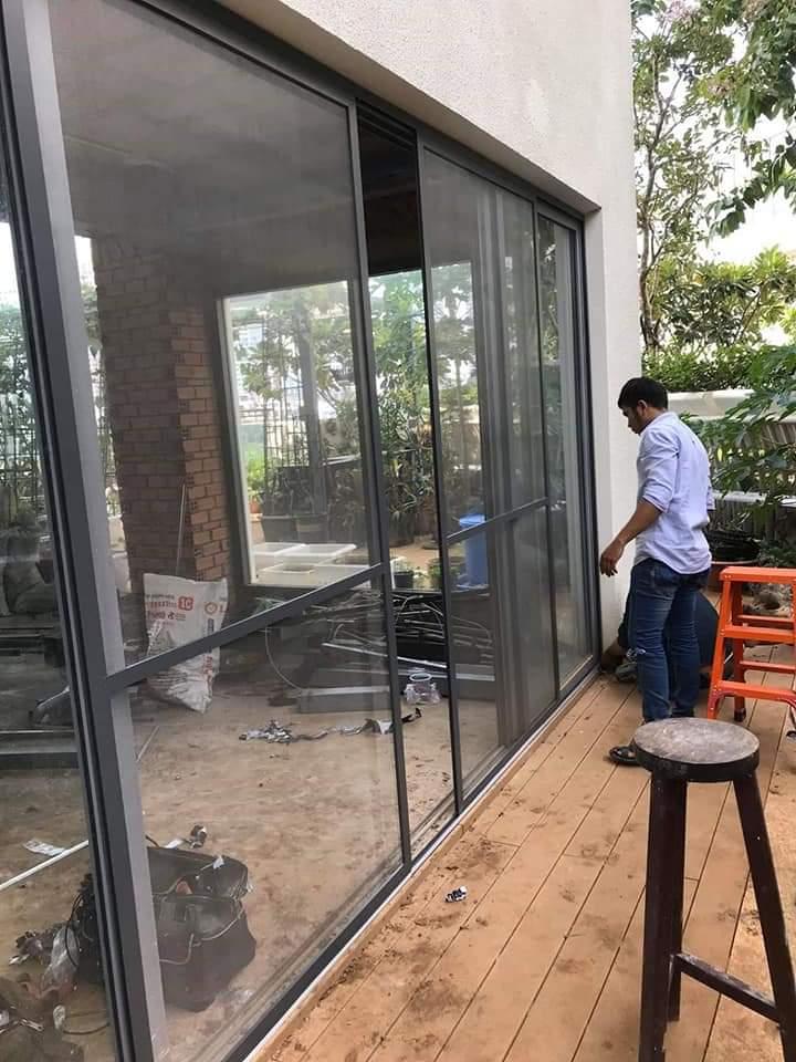 cửa luới chống muỗi dạng lùa